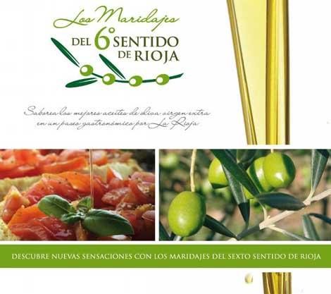 Restaurantes de La Rioja organizan catas y maridajes con aceite de oliva virgen extra