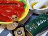 Asadillo de pimientos al estilo manchego con aceite de oliva virgen extra cornicabra