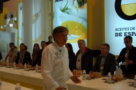 Aceite de oliva virgen extra Salón de Gourmets. Interprofesional del Aceite de Oliva de España