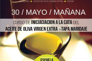 Curso de iniciación a la cata de aceite de oliva virgen extra + tapa maridaje. Varias fechas