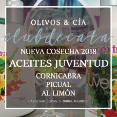 CLUB DE CATA: NUEVA COSECHA 2018 AOVES JUVENTUD. 27 febrero