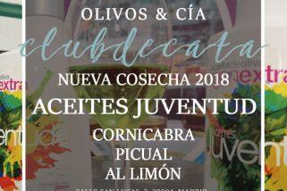 CLUB DE CATA: NUEVA COSECHA 2018 AOVES JUVENTUD. 17 ENERO 2019